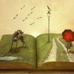 Buch, Fantasie, vorlesen, Lesung,