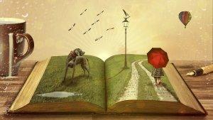 Buch, Fantasie, vorlesen, Lesung, lang